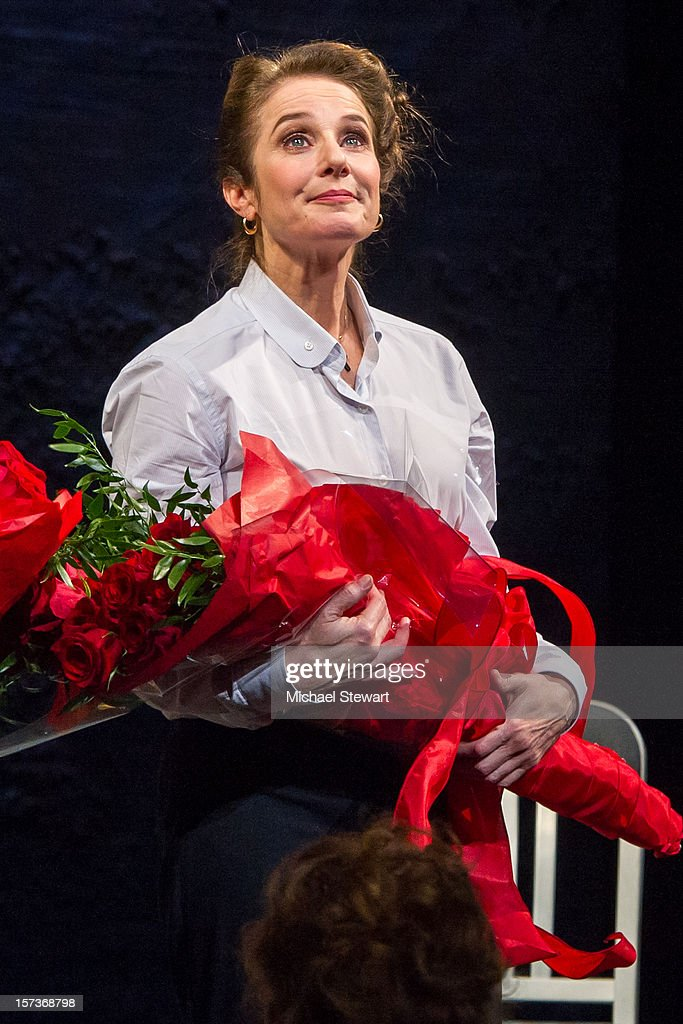 Actress Debra Winger attends 'The Anarchist' Broadway Opening Night at John Golden Theatre on December 2, 2012 in New York City.