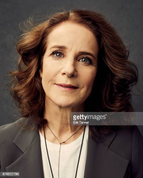 Actress Debra Winger from 'The Lovers' poses at the 2017 Tribeca Film Festival portrait studio on April 23 2017 in New York City