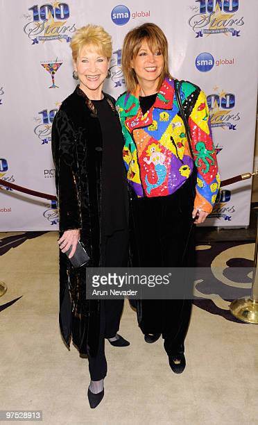 Actress Dee Wallace and Cheryl Kagan attend The 20th Annual Night Of 100 Stars Awards Gala at Beverly Hills Hotel on March 7 2010 in Beverly Hills...