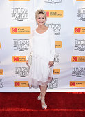 Actress Dee Wallace arrives at the premiere of Momentum Pictures' 'Outlaws and Angels' at the Ahrya Fine Arts Movie Theater on July 12 2016 in...