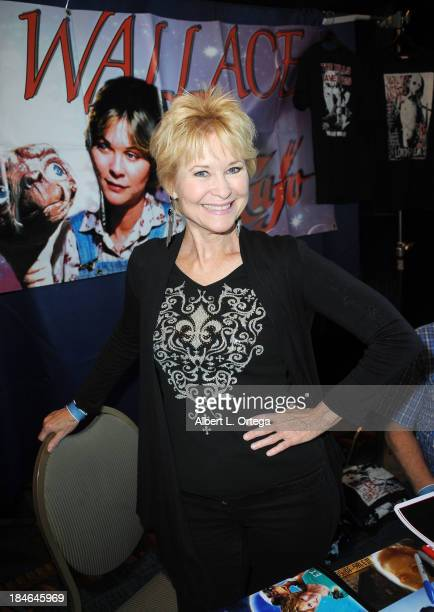 Actress Dee Wallace attends Son Of Monsterpalooza 2013 at Burbank Airport Marriott on October 12 2013 in Burbank California
