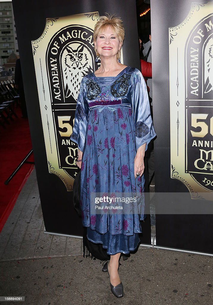 Actress Dee Wallace attends the Academy Of Magical Arts 50th Anniversary Gala at The Magic Castle on January 2, 2013 in Hollywood, California.
