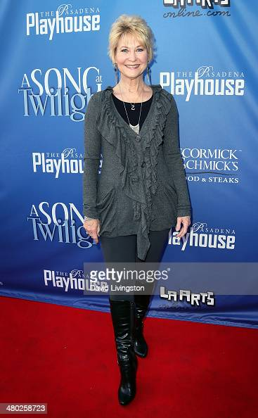 Actress Dee Wallace attends the opening night of 'A Song at Twilight' at the Pasadena Playhouse on March 23 2014 in Pasadena California