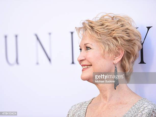 Actress Dee Wallace attends the world premiere of 'UNITY' at the DGA Theater on June 24 2015 in Los Angeles California