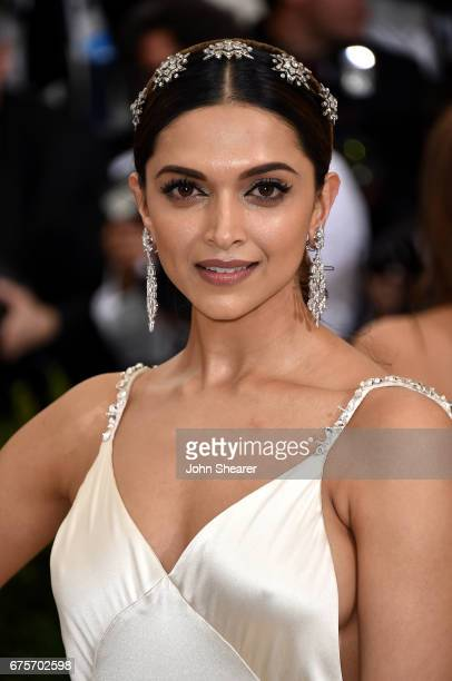 Actress Deepika Padukone attends 'Rei Kawakubo/Comme des Garcons Art Of The InBetween' Costume Institute Gala at Metropolitan Museum of Art on May 1...