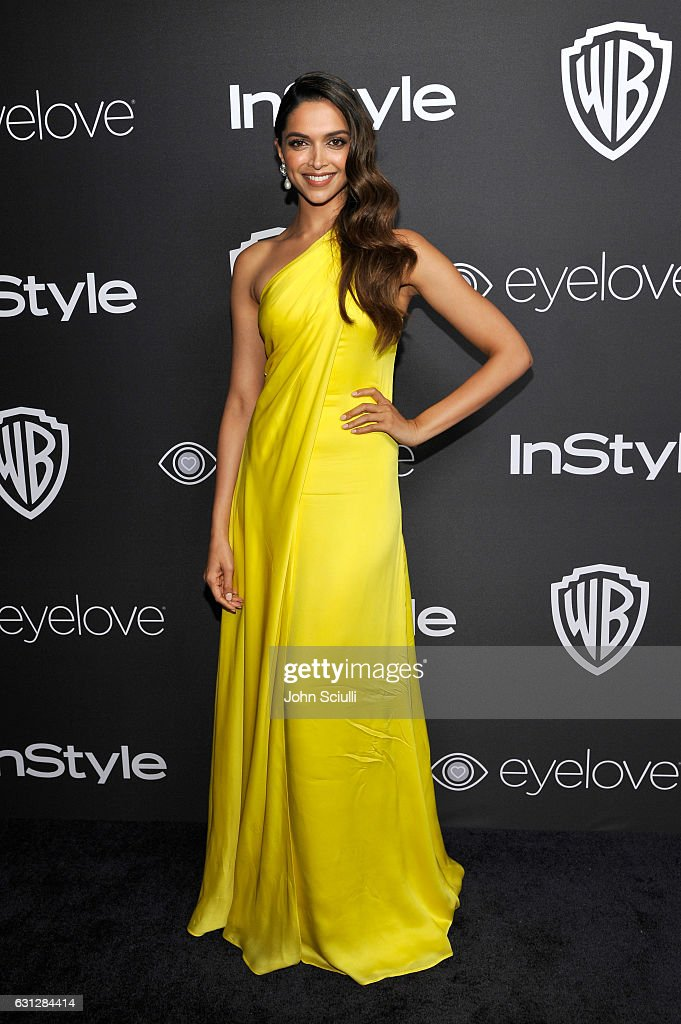 Actress Deepika Padukone attends The 2017 InStyle and Warner Bros. 73rd Annual Golden Globe Awards Post-Party at The Beverly Hilton Hotel on January 8, 2017 in Beverly Hills, California.