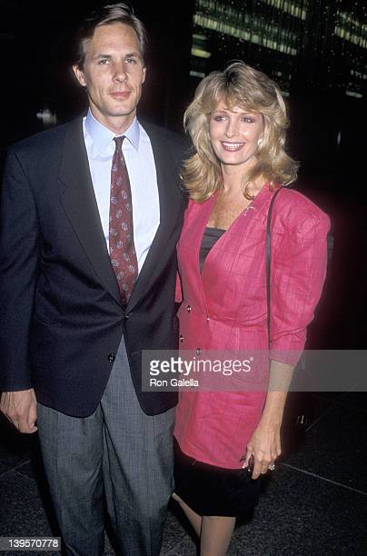 Actress Deidre Hall and husband Michael Dubelko attend the 'I Love You Perfect' West Hollywood Premiere on September 5 1989 at DGA Theatre in West...