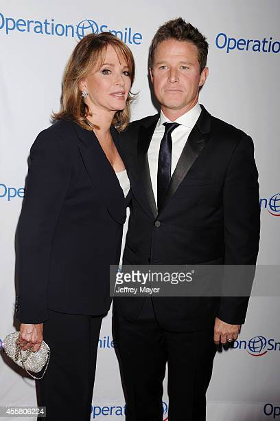 Actress Deidre Hall and TV personality Billy Bush attend the 2014 Operation Smile Gala at the Beverly Wilshire Four Seasons Hotel on September 19...