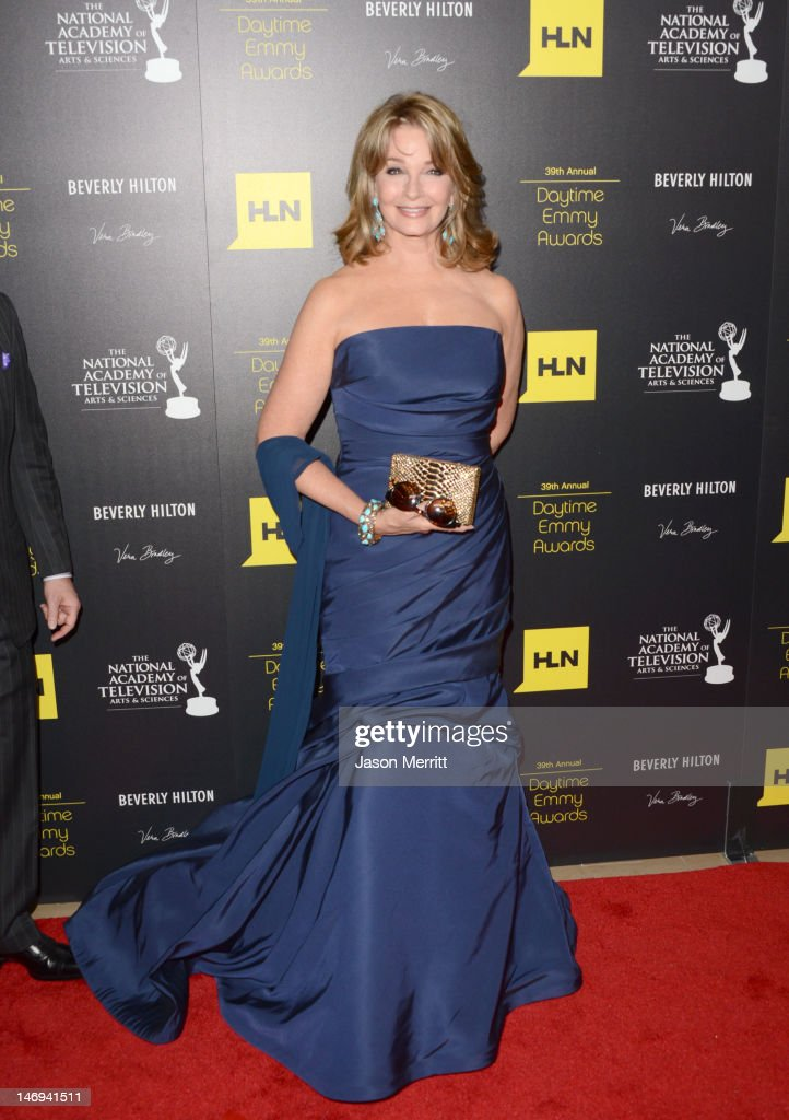 Actress Deidre Hall arrives at The 39th Annual Daytime Emmy Awards broadcasted on HLN held at The Beverly Hilton Hotel on June 23, 2012 in Beverly Hills, California. (Photo by Jason Merritt/WireImage) 22542_002_JM_1857.JPG