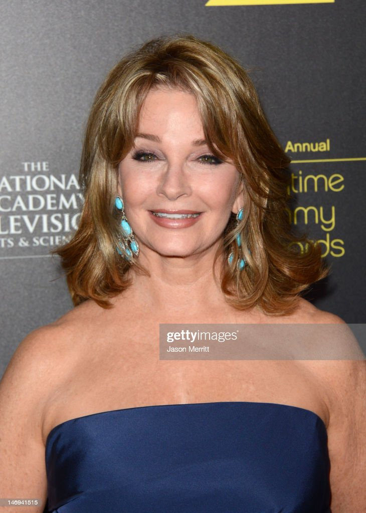 Actress Deidre Hall arrives at The 39th Annual Daytime Emmy Awards broadcasted on HLN held at The Beverly Hilton Hotel on June 23, 2012 in Beverly Hills, California. (Photo by Jason Merritt/WireImage) 22542_002_JM_1863.JPG