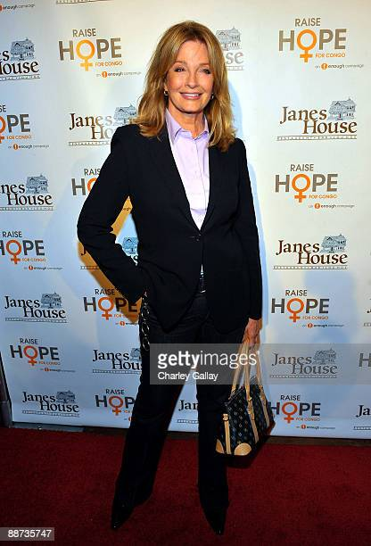 Actress Deidre Hall arrives at the Raise Hope for the Congo event at Janes House on June 28 2009 in Los Angeles California