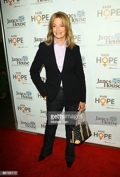 Actress Deidre Hall arrives to the 'Raise Hope For The Congo' event held at Janes House on June 28 2009 in Los Angeles California