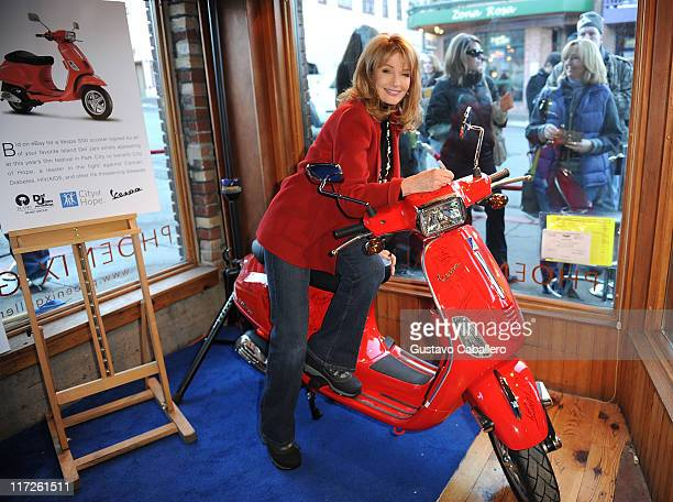 Actress Deidre Hall at the Island Def House of Hype Hospitality Suite on January 16 2009 in Park City Utah