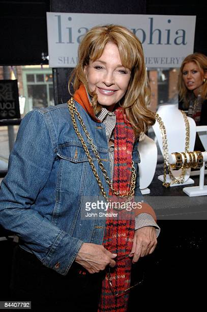Actress Deidre Hall at the Rock Band Lounge on January 17 2009 in Park City Utah