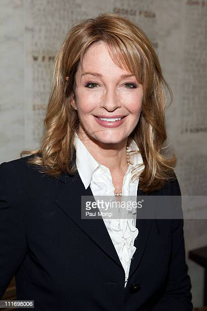 Actress Deidre Hall attends a press conference regarding the Child Nutrition Promotion and School Lunch Protection Act at the Reserve Officers...