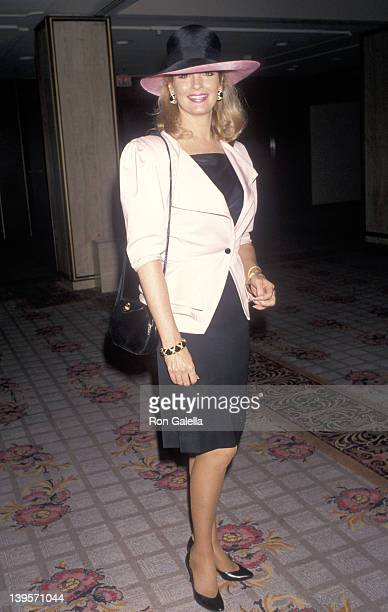 Actress Deidre Hall attends the 14th Annual Women in Film Crystal Awards on June 8 1990 at Century Plaza Hotel in Los Angeles California