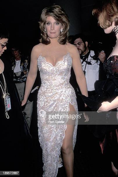Actress Deidre Hall attends the 22nd Annual Daytime Emmy Awards on May 19 1995 at Marriott Marquis Hotel in New York City