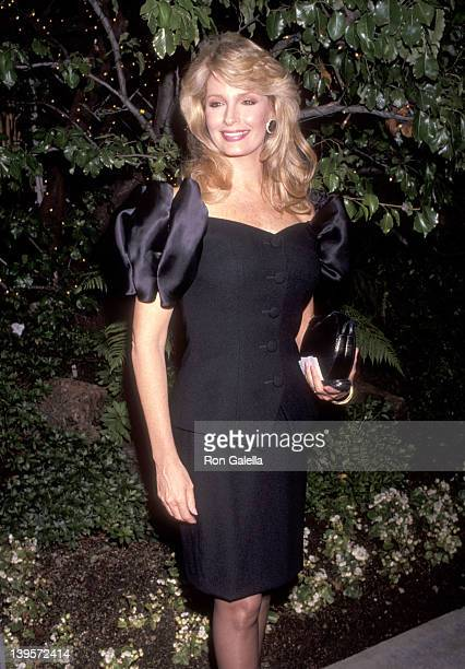 Actress Deidre Hall attends the 43rd Annual Primetime Emmy Awards Nominees Cocktail Reception on August 20 1991 at Westwood Marquis Hotel in Westwood...