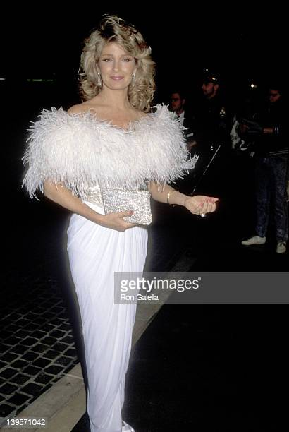 Actress Deidre Hall attends the 47th Annual Golden Globe Awards on January 20 1990 at Bevelry Hilton Hotel in Beverly Hills California