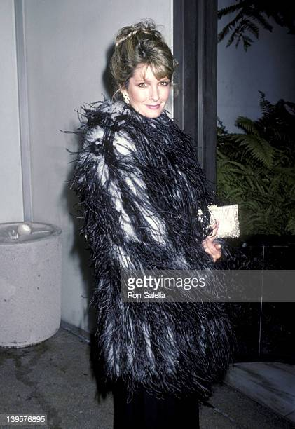 Actress Deidre Hall attends the First Annual Joan Rivers Celebrity Tennis/Auction Classic to Benefit the Cystic Fibrosis Foundation on May 31 1986 at...