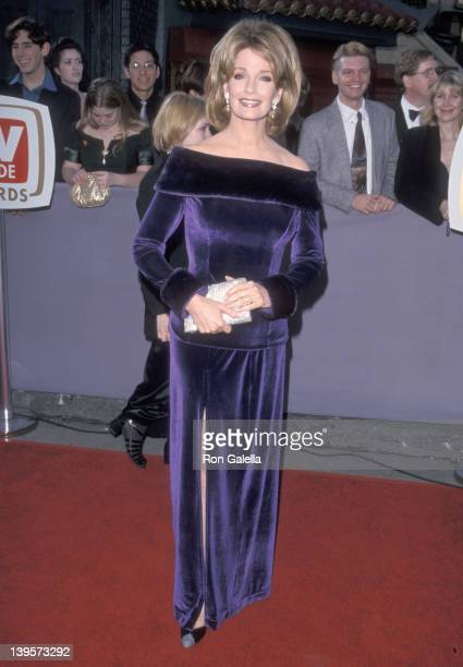 Actress Deidre Hall attends the First Annual TV Guide Awards on February 1 1999 at 20th Century Fox Studios in Century City California