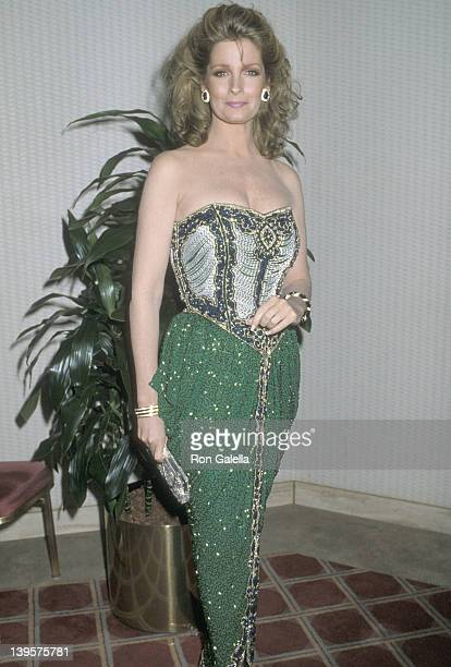 Actress Deidre Hall attends the Jewish National Fund Annual Tree of Life Awards on December 11 1986 at Sheraton Premiere Hotel in Universal City...