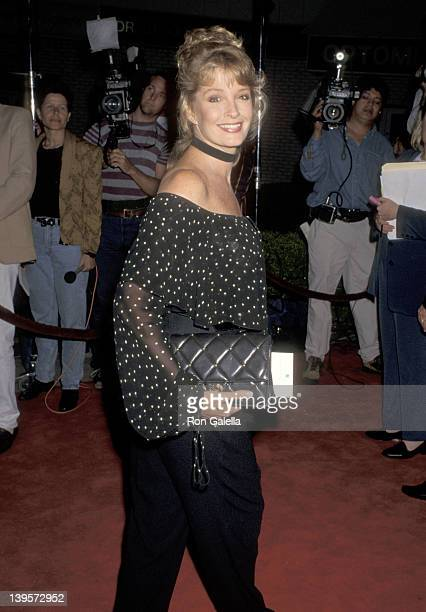 Actress Deidre Hall attends the 'Now and Then' Westwood Premiere on October 5 1995 at Mann Village Theatre in Westwood California