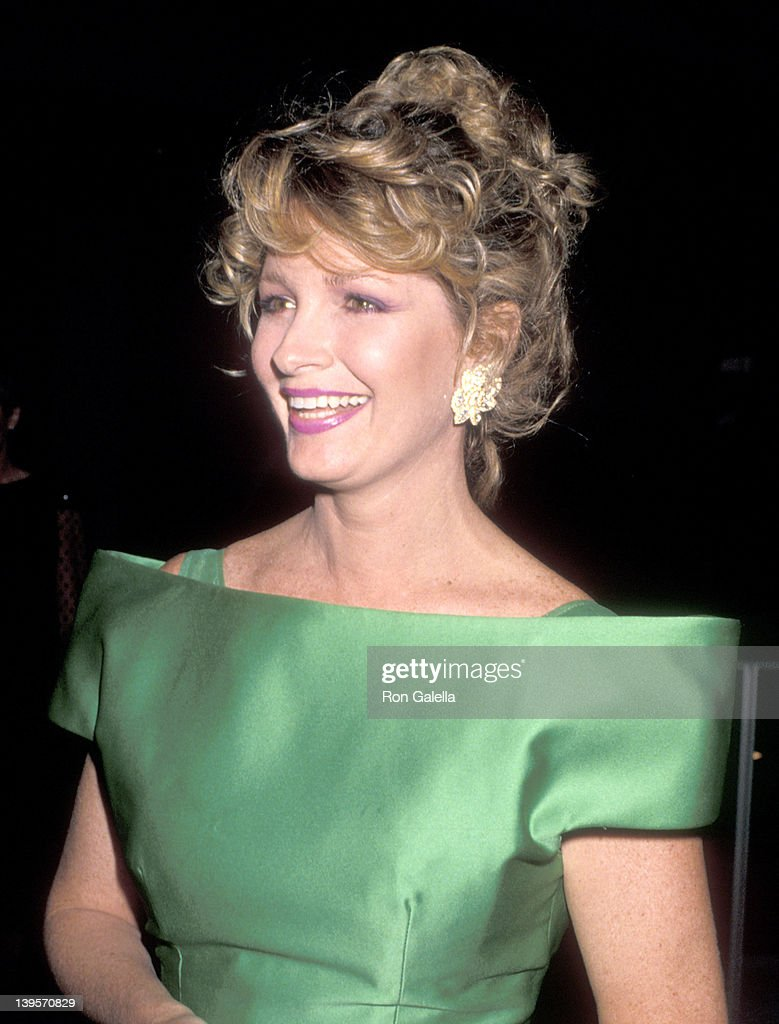 Actress Deidre Hall attends 'The Phantom of the Opera' Preview Performance on May 23 1989 at Ahmanson Theatre Los Angeles Music Center in Los Angeles...