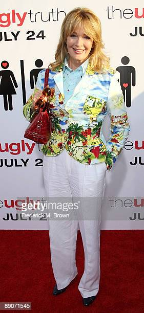 Actress Deidre Hall attends the 'The Ugly Truth' film premiere at the ArcLight Cinemas Cinerama Dome on July 16 2009 in Hollywood California