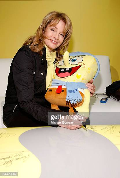 Actress Deidre Hall visits Nickelodeon at Village at The Yard in on January 17 2009 in Park City Utah
