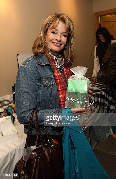 Actress Deidre Hall visits the Kari Feinstein Sundance Style Lounge on January 17 2009 in Park City Utah