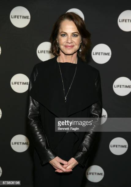Actress Deirdre Lovejoy attends the Lifetime and NeueHouse Women's Forum screening of 'I Am Elizabeth Smart' at NeueHouse Madison Square on November...