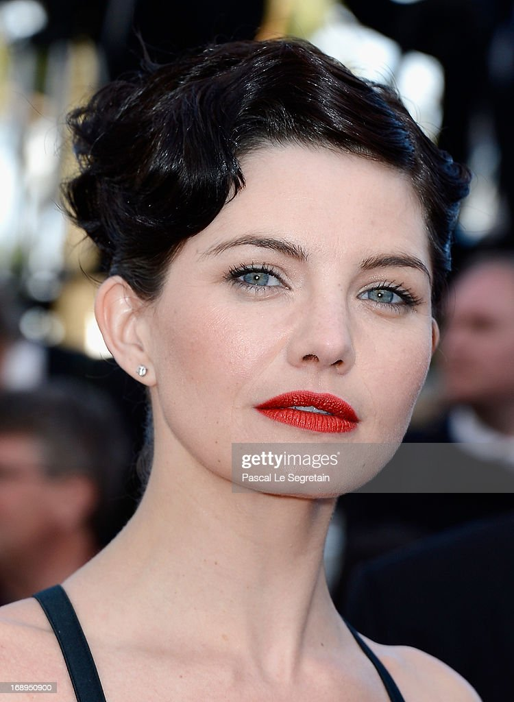 Actress Delphine Chaneac attends the Premiere of 'Le Passe' (The Past) during The 66th Annual Cannes Film Festival at Palais des Festivals on May 17, 2013 in Cannes, France.