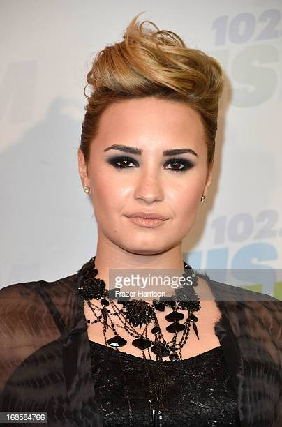 Actress Demi Lovato attends 1027 KIIS FM's Wango Tango 2013 held at The Home Depot Center on May 11 2013 in Carson California