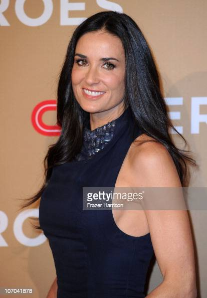 Actress Demi Moore arrives at the 2010 CNN Heroes An AllStar Tribute held at The Shrine Auditorium on November 20 2010 in Los Angeles California