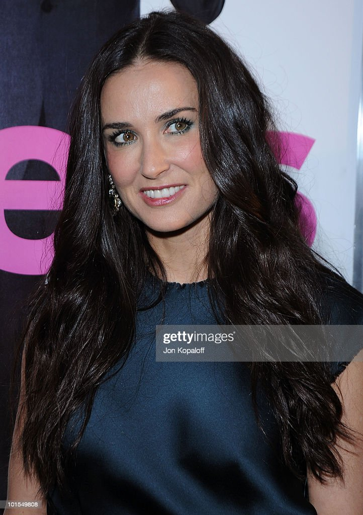 Actress Demi Moore arrives at the Los Angeles Premiere 'Killers' at the ArcLight Cinemas Cinerama Dome on June 1, 2010 in Hollywood, California.