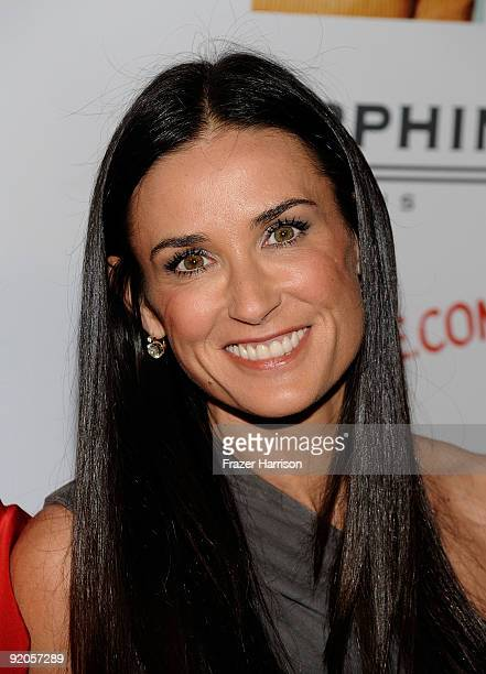 Actress Demi Moore arrives at the Ryan Kavanaugh Hosts A Book Party For Laura Day to celebrate the launch of her new book 'How To Rule The World From...