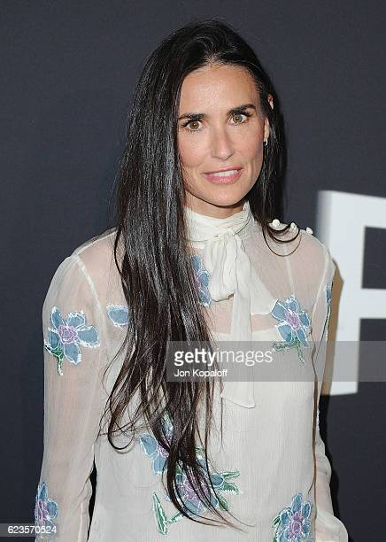 Actress Demi Moore arrives at the screening Of David O Russell's 'Past Forward' hosted by Prada at Hauser Wirth Schimmel on November 15 2016 in Los...