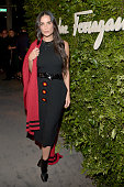 Actress Demi Moore attends as Ferragamo Celebrates 100 Years in Hollywood at the newly unveiled Ferragamo boutique on September 9 2015 in Beverly...