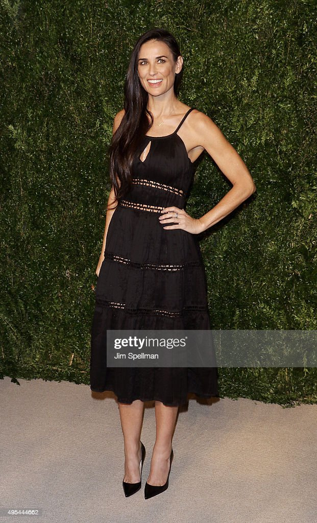 Actress Demi Moore attends the 12th annual CFDA/Vogue Fashion Fund Awards at Spring Studios on November 2, 2015 in New York City.