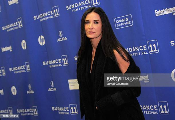 Actress Demi Moore attends the 'Another Happy Day' Premiere at the Eccles Center Theatre during the 2011 Sundance Film Festival on January 23 2011 in...