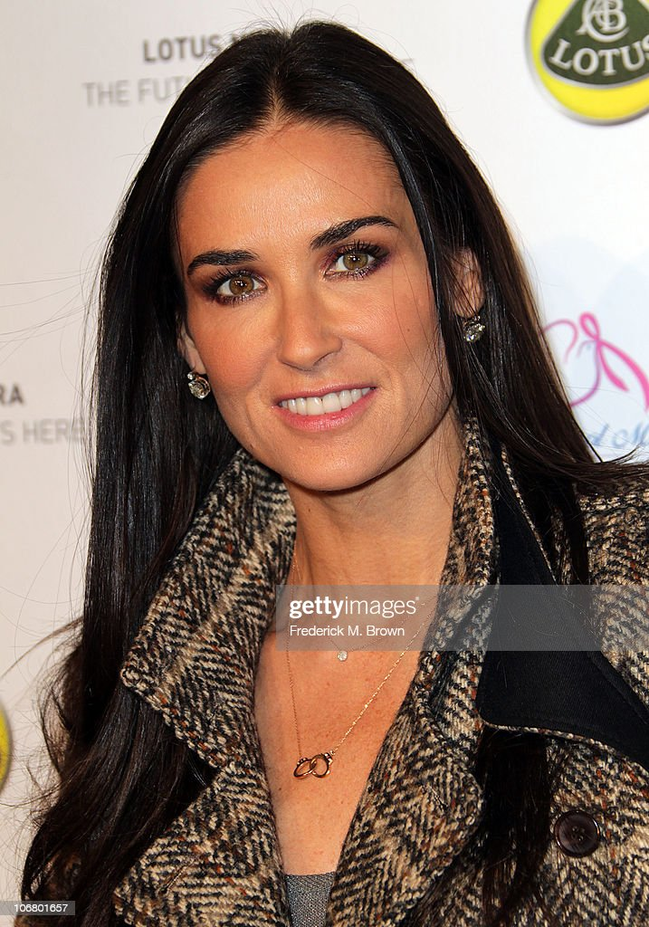 Actress Demi Moore attends the Lotus Cars Launch event on November 12, 2010 in Los Angeles, California.