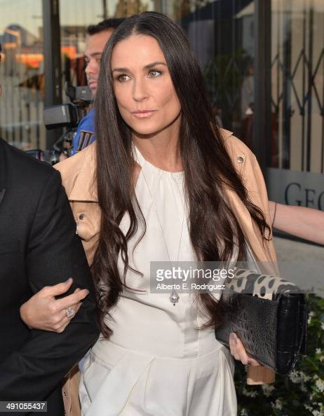 Actress Demi Moore attends the opening of The De Re Gallery on May 15 2014 in Los Angeles California