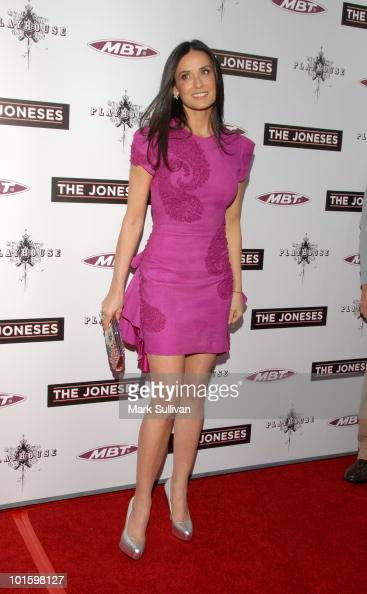 Actress Demi Moore attends the 'The Joneses' Los Angeles Premiere at ArcLight Cinemas on April 8 2010 in Hollywood California
