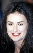 Actress Demi Moore circa 1988