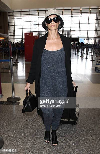 Actress Demi Moore is seen on July1 2015 in Los Angeles California