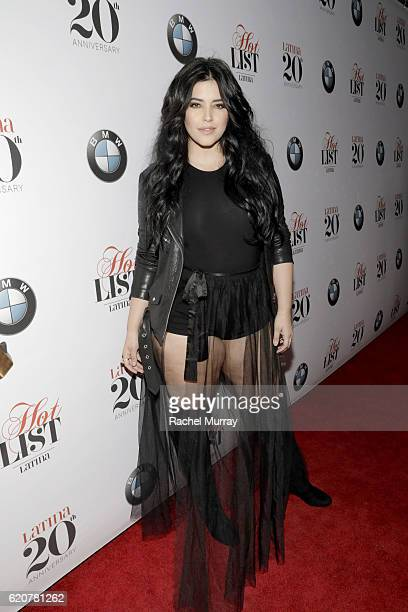 Actress Denise Bidot attends Latina's 20th Anniversary celebrating The Hollywood Hot List Honorees at STK on November 2 2016 in Los Angeles California