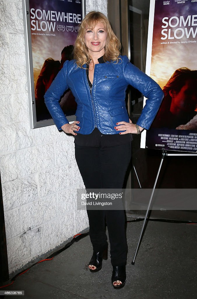 Actress Denise Grayson attends a screening of Logolite Entertainment & Screen Media Films' 'Somewhere Slow' at Arena Cinema Hollywood on January 31, 2014 in Hollywood, California.