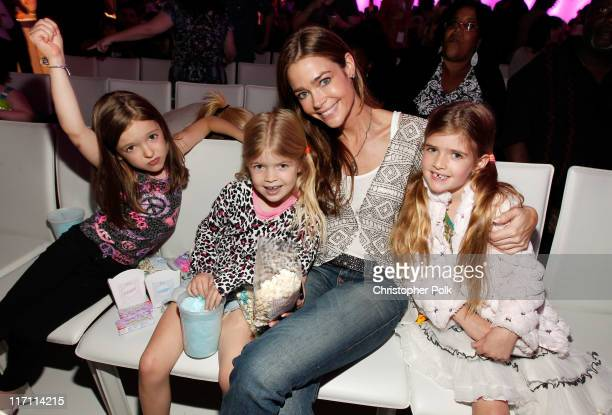 Actress Denise Richards and daughters Sam Sheen and Lola Rose Sheen attend Nickelodeon's exclusive premiere for the upcoming primetime TV event of...