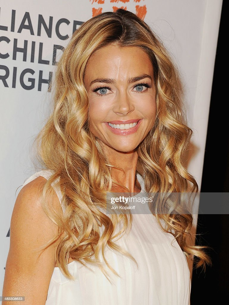 Actress <a gi-track='captionPersonalityLinkClicked' href=/galleries/search?phrase=Denise+Richards+-+Actress&family=editorial&specificpeople=208108 ng-click='$event.stopPropagation()'>Denise Richards</a> arrives at The Alliance For Children's Rights 22nd Annual Dinner at The Beverly Hilton Hotel on April 7, 2014 in Beverly Hills, California.